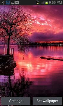 Redish Evening Lake LWP poster