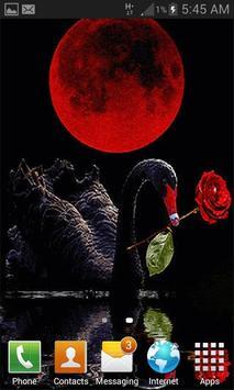 Red Rose Swan LWP screenshot 1