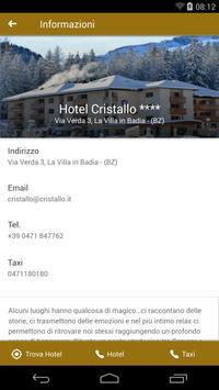 Hotel Cristallo **** apk screenshot