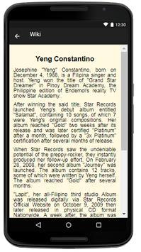 Yeng Constantino Music&Lyrics. screenshot 1