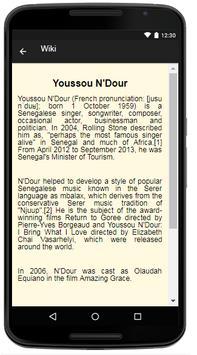 Youssou N Dour Music&Lyrics screenshot 1