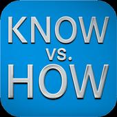 KNOWvs.HOW icon