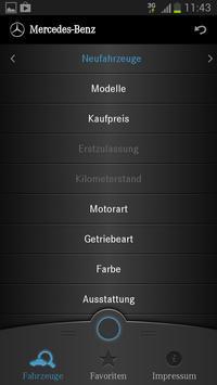 Mercedes-Benz Fahrzeugsuche screenshot 1