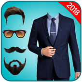 Man Suit Photo Editor-Beard-Mustache-Hairstyles icon
