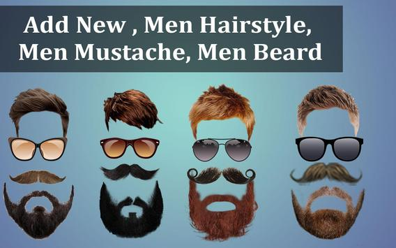Man Suit Photo Editor-Beard-Mustache-Hairstyles screenshot 2