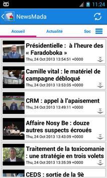 Madagascar News apk screenshot