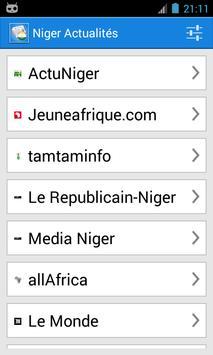 Niger Actualités poster
