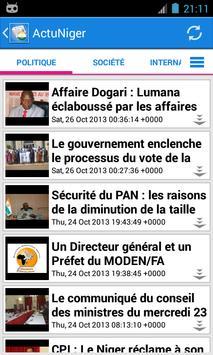 Niger Actualités screenshot 1