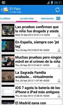 España Noticias screenshot 1