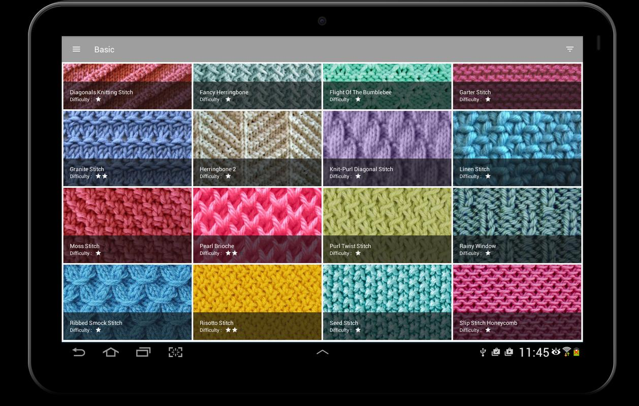 Knitting Stitches APK Download - Free Lifestyle APP for Android ...
