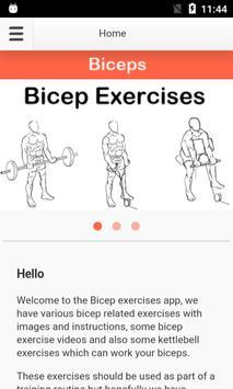 Bicep Exercises screenshot 5