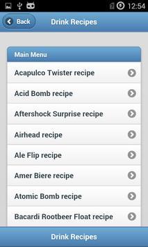 Drink Recipes screenshot 1