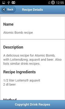 Drink Recipes screenshot 2