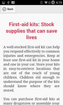Easy First Aid screenshot 3