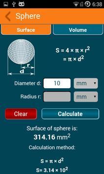 Geometry Calculator screenshot 14