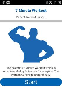 7 Minute Workout poster