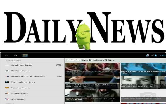 Daily WORLD News apk screenshot