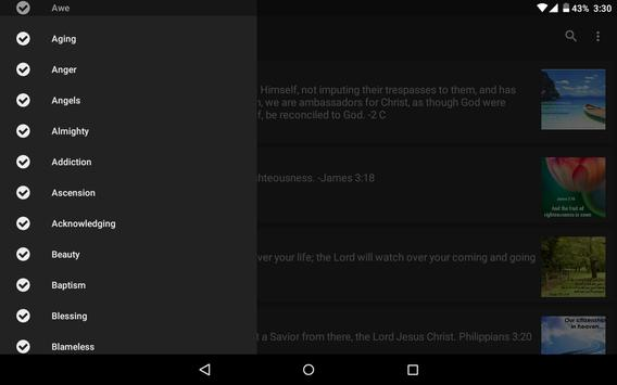 Daily Bible Verse screenshot 11