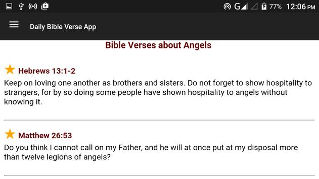 Daily Bible Verse apk screenshot
