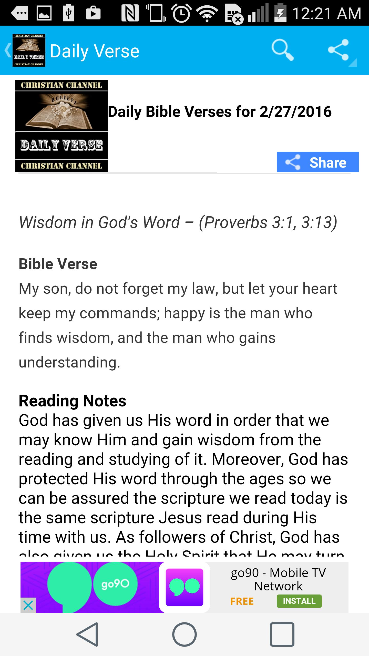Daily Bible Verse & Meditation for Android - APK Download