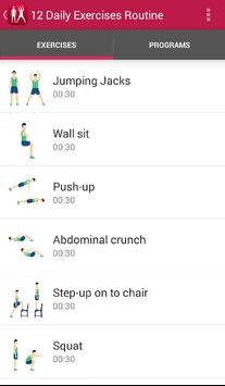 12 daily exercises routine apk download free health fitness app