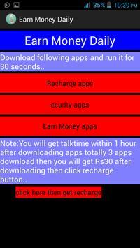 Earn Money Daily apk screenshot