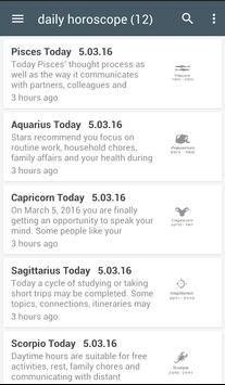 horoscope 2016 apk screenshot