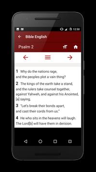 Bible English apk screenshot