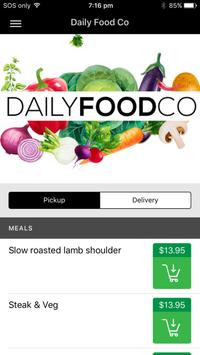 Daily Food Co poster
