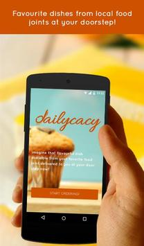Dailycacy- Food ordering poster