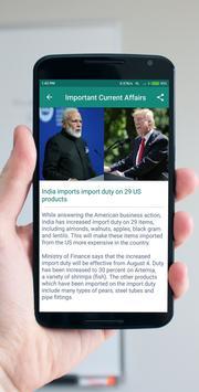 Current Affairs - 2018 Daily Update screenshot 3