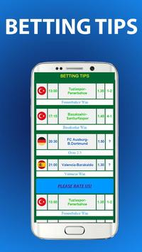 Betting Tips Sports screenshot 1