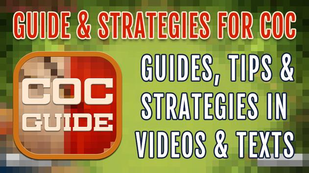 Guide & Strategies for COC poster