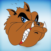Angry Scooby Dog icon