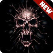 Scary Skull HD Wallpapers icon