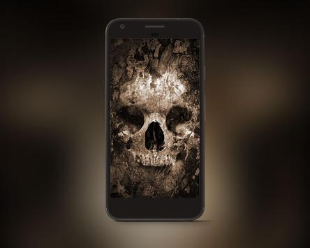Scary Skull HD Wallpapers poster