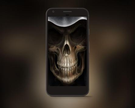 Scary Skull HD Wallpapers apk screenshot