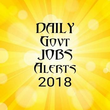 Daily Govt Jobs Alerts-2018 poster