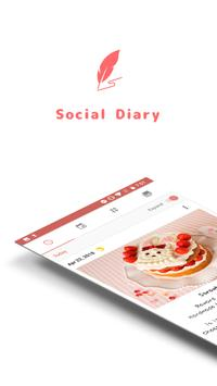 Daily life : My diary poster