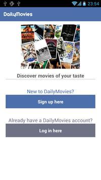 DailyMovies apk screenshot