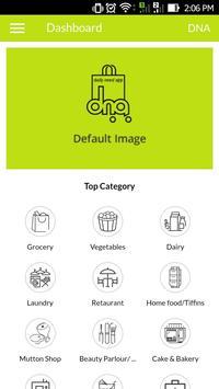 DNA Online Store Application apk screenshot