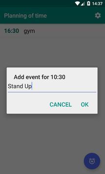 Time Scheduler apk screenshot