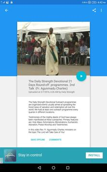 Daily Strength Devotional apk screenshot