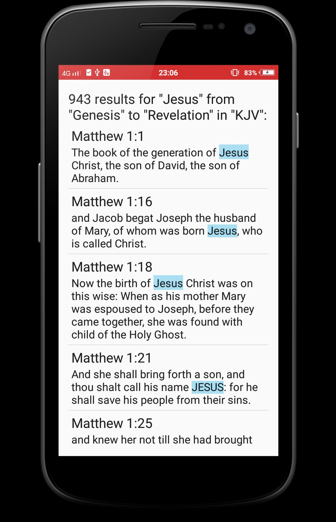 NKJV Bible for Android - APK Download