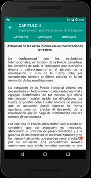 Código de Policía Colombia screenshot 3