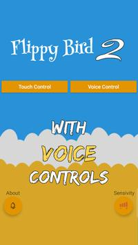 Flippy Bird 2 - With Voice Control poster