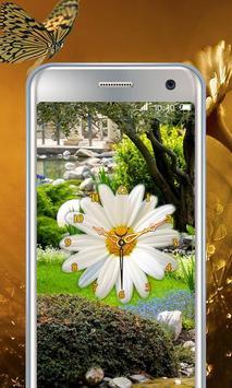 Daisy Flower Clock screenshot 5