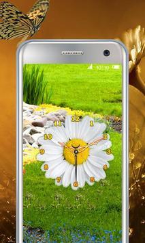 Daisy Flower Clock screenshot 1