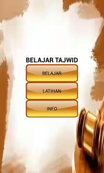 Belajar Ilmu Tajwid poster