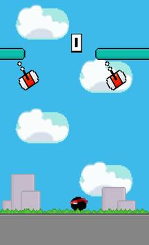 Fly Ninja Ball apk screenshot